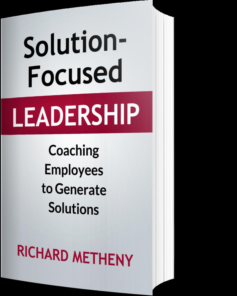 Solution Focused Leadership Book